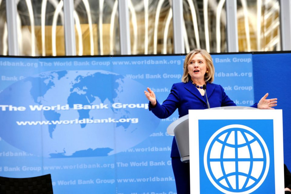 Hillary Clinton - World Water Day 2011 (photo: U.S. State Dept.)